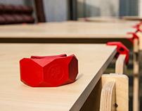 PlayWood interior design for Impact Hub Reggio Emilia