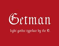 шрифт Гетман | Getman typeface