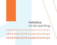 Typeface Brochure—Helvetica