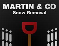 Martin's Snow Removal Logo Design