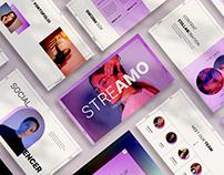 Streamo Presentation Templates