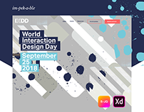 World Interaction Design Day website