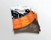 Beauty Company Flyer Design Mock-Up