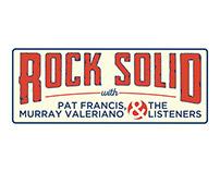 Rock Solid Podcast Logo Design