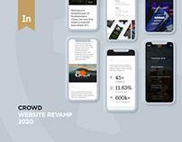©CROWD – Website Revamp 2020