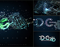 3D Grid Logo