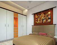 3BHK Interior Design.