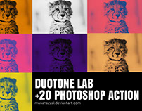 Duotone Lab Photoshop Action