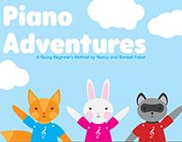 Piano Adventures Redesign