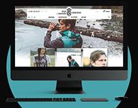 Siberian Сharacter - UI / UX Web design