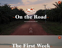 On the Road, an interactive travel blog