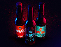 Vandal Brewing package by The Sonnyfive