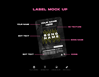 FREE LABEL sick mock up