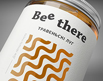 Bee There honey packaging