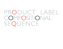 Product Label Compositional Sequence Project