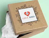 LOVE BIRD LOGO & BRANDING