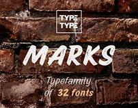 Marks fontfamily