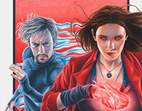 Age of Ultron: Scarlet Witch & Quicksilver