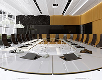 Conference Hall 3d Visualization