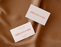 Ala Szablewska | Personal Branding & Website