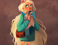 Harry Potter Character Design Challenge - Luna Lovegood