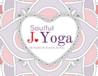 Soulful J. Yoga Postcard