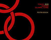 TOKYO 2020 SUMMER OLYMPIC GAME poster design
