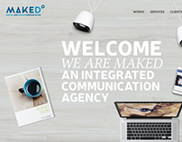 MAKED | Naming + Sito + Blogging