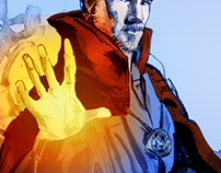 Doctor Strange color sketch