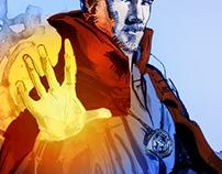 Doctor Strange color sketch