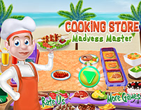 Cooking Store Madness Android IOS game Marketing