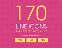 Line Icons Freebie
