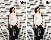 Photo retouching Tec Review magazine