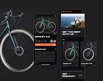 Pride Bikes // Mobile app