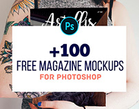 100+ Free Magazine PSD Mockups to Download