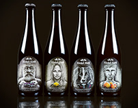 Ferme Series for Wicked Weed Brewing
