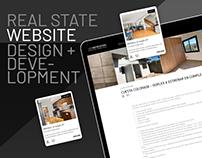 Real State Wordpress | UI/UX Design & Development