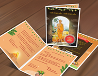 Sacred Thread (Subha Upanayan) ceremony card design