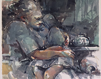 Untitled 56 x 38 cm