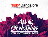 TEDxBangalore 2015 Identity Design