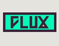 Brand identity - logo FLUX