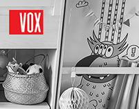 Characters for VOX Nest furniture collection