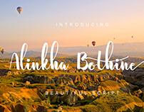 FREE Alinkha Bothine Script Font