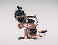 1930s Koken Barber Chair
