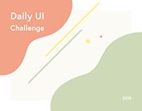 Daily UI Challenge - 1