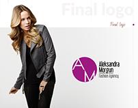 Fashion Agency Design, Logo, Stile Book