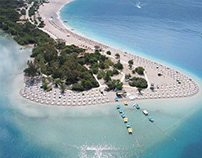 Beautiful Beach Fethiye Turkey