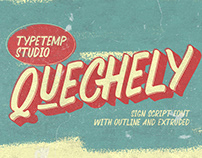 FREE | Quenchely Retro Sign Font