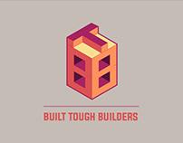BUILT TOUGH BUILDERS - LOGO DESIGN