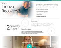 Innova Recovery - web design